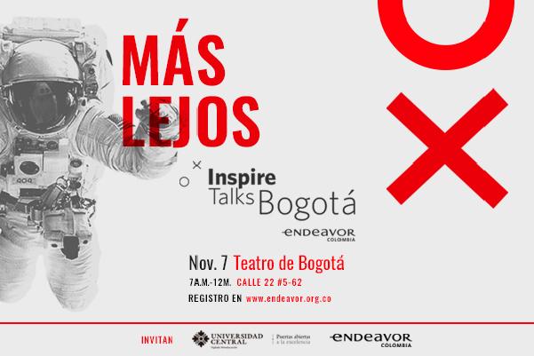 Inspire Talks Bogotá: el evento que invita a los emprendedores a ir más lejos