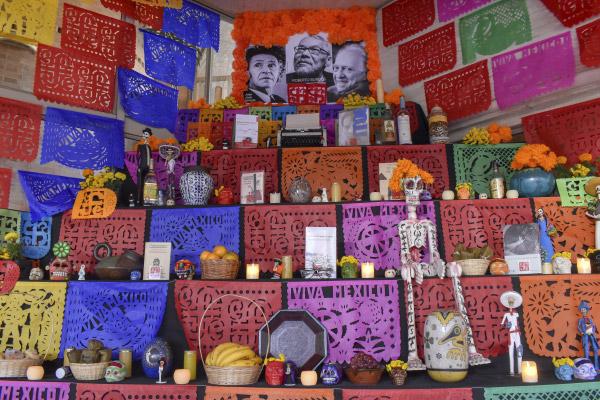 Un altar para la memoria
