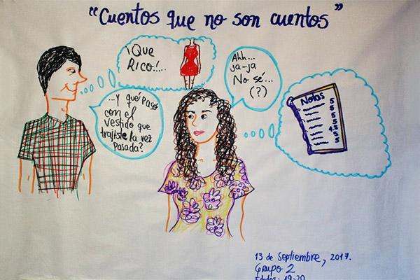 """""""Cuentos que no son cuentos"""": acoso sexual en las universidades"""
