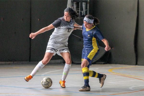 Campeones por partida doble en fútbol sala