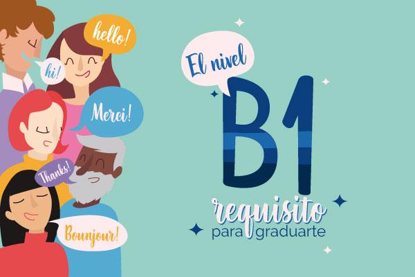 Requisito B1 en un idioma para grado