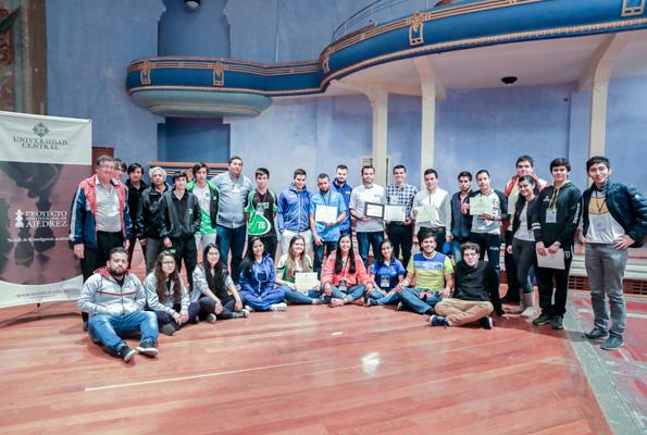 Resultados del II Encuentro Nacional Universitario de Ajedrez