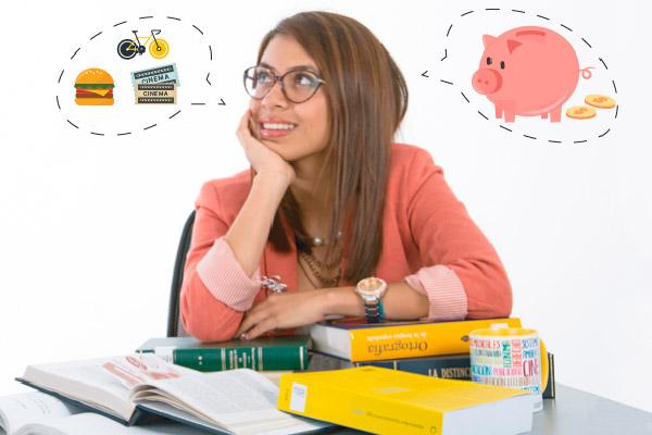 Presupuesto para universitarios