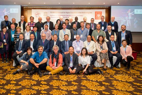 Álvaro Franco participó en encuentro internacional de artes escénicas en China