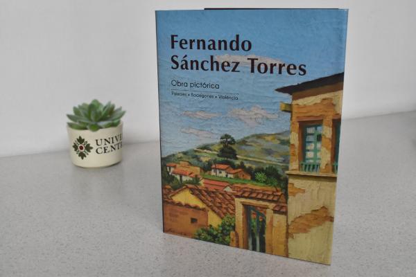 Obra pictórica de Fernando Sánchez Torres en la Filbo 2019