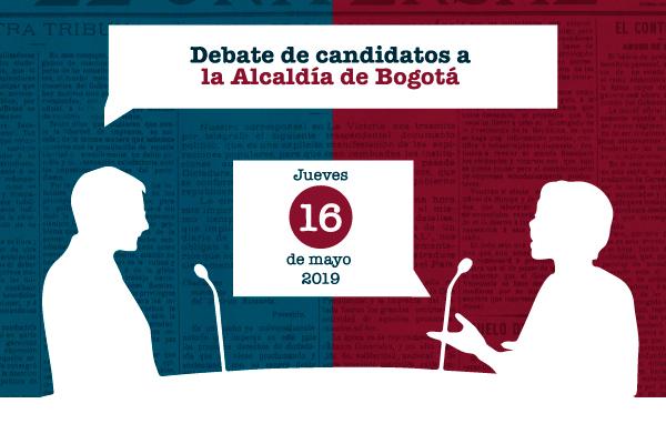 Aspirantes a la Alcadía de Bogotá debatirán en la UC
