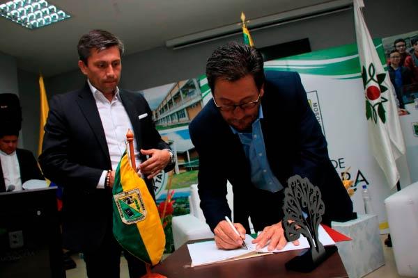 U. Central y Alcaldía de Mosquera en alianza estratégica