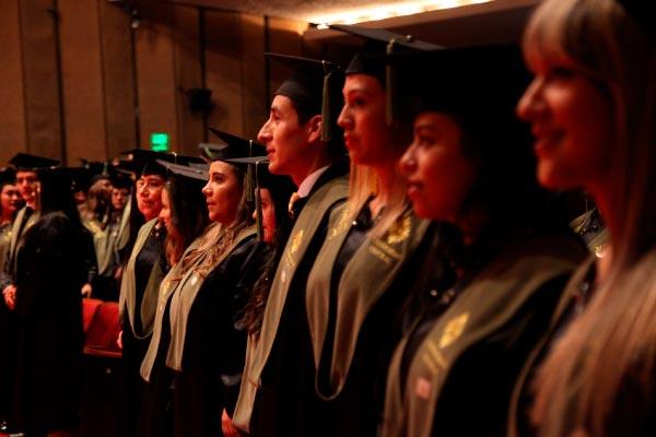 602 nuevos profesionales de la Universidad Central