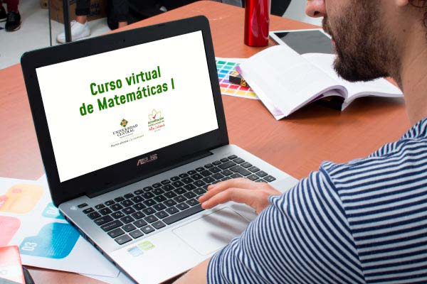 Inscríbase en el curso virtual de Matemáticas I
