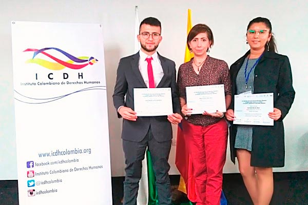 Participamos en el V Concurso Internacional de Derechos Humanos
