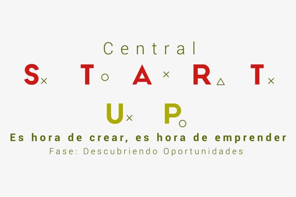 Abierta la convocatoria Central StartUp- Descubriendo Oportunidades