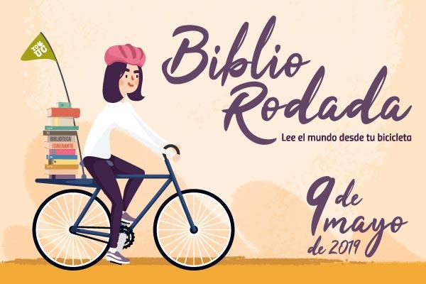 BiblioRodada: lea el mundo desde su bicicleta