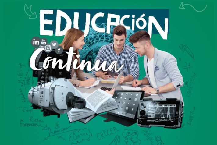 Calendario de educación continua