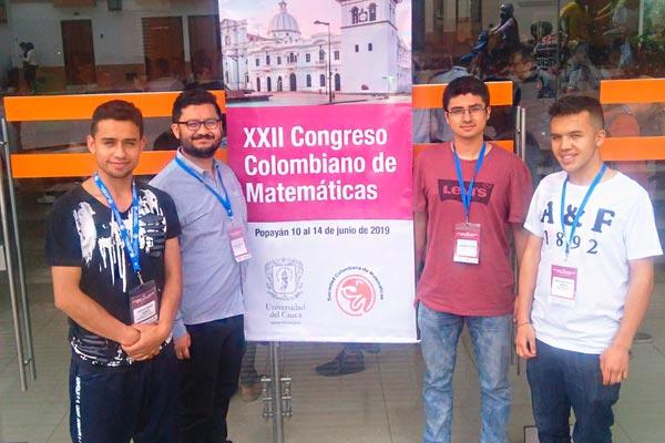 U. Central presente en el XXII Congreso Colombiano de Matemáticas