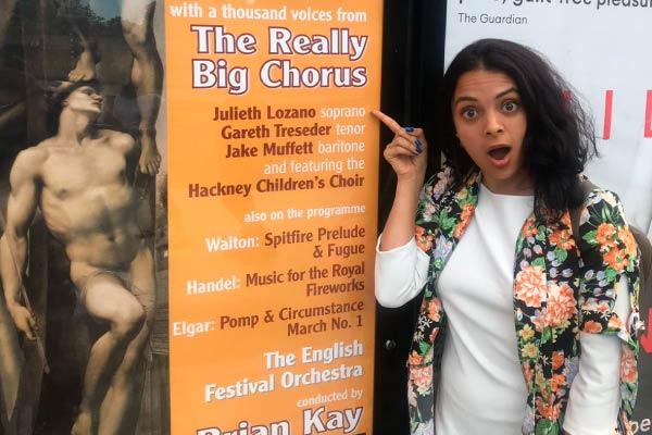 La colombiana Julieth Lozano protagoniza Carmina Burana en Londres