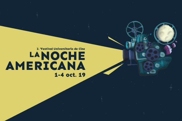 Convocatoria al 2.° Festival Universitario de Cine, La Noche Americana