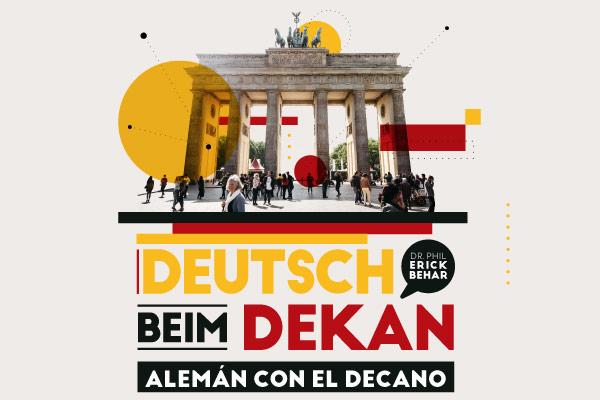 ¡Alemán con el Decano!