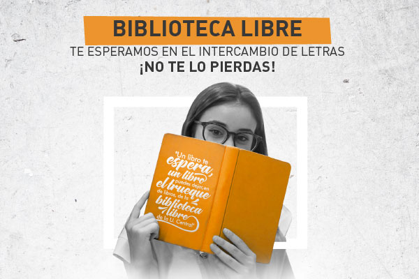 Biblioteca libre. Intercambio de letras