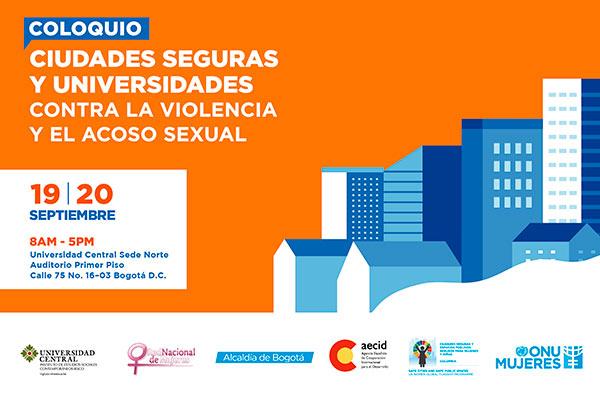 Ciudades seguras y universidades contra la violencia y el acoso sexual