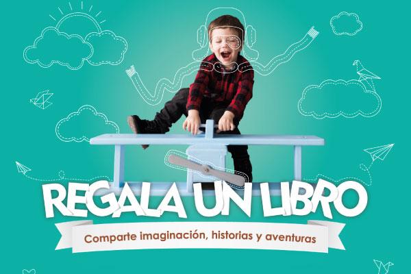 Regala un libro para nuestro Jardín infantil
