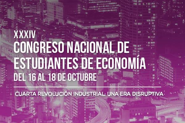 XXXIV Congreso Nacional de Estudiantes de Economía
