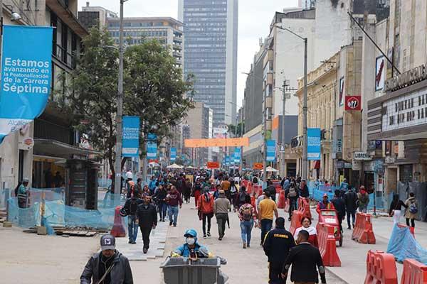 Una alternativa para mejorar la caminabilidad en el centro de Bogotá