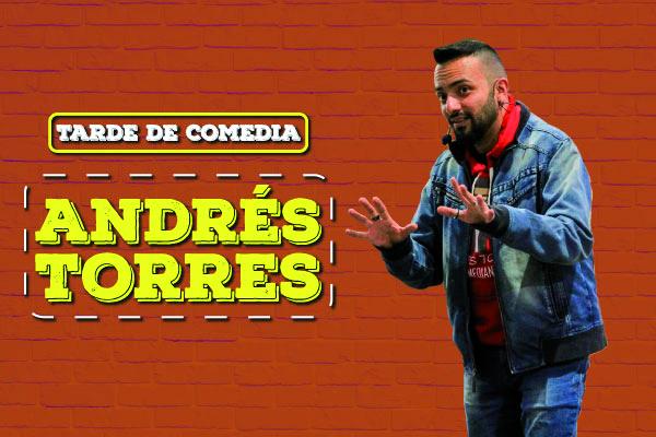 Tarde de comedia con Andrés Torres