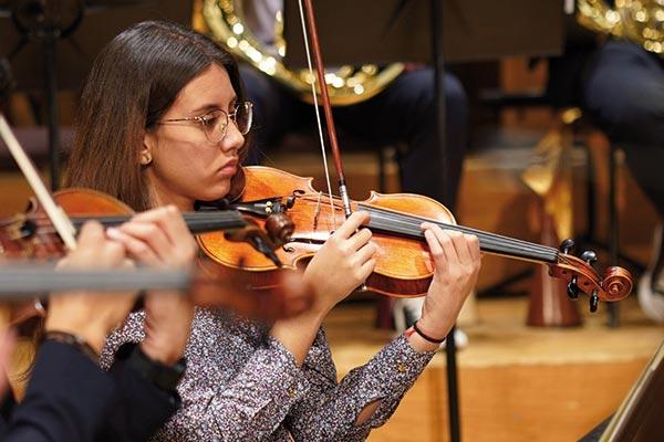 Unicentralistas en la temporada 2020 de la Filarmónica Joven de Colombia