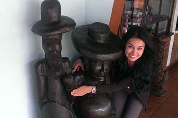 Vaitiere Alejandra Rojas Manrique, ganadora del Concurso de Novela Universidad Central - 2019