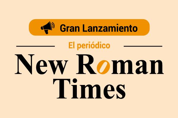 Gran lanzamiento del periódico New Roman Times