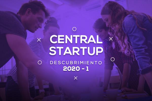 Central StartUp 2020-1 - Tercera convocatoria