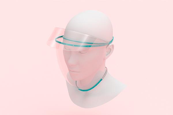 Unicentralista gana reto de PNUD con un prototipo de máscaras de protección
