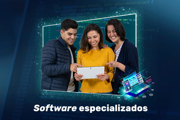 Guías de acceso para software especializados