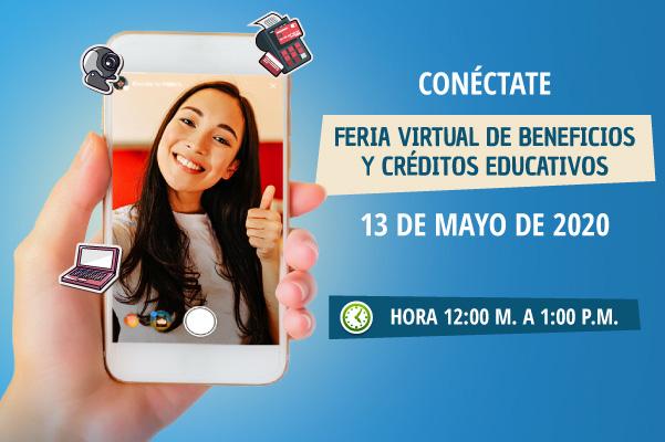 Feria Virtual de Beneficios y Créditos Educativos
