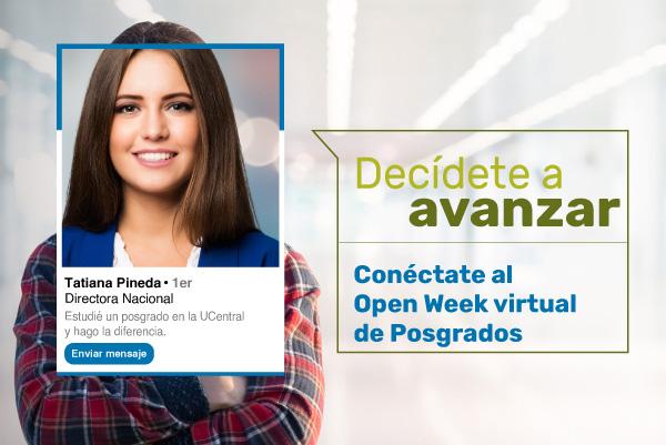 Open week virtual de Posgrados