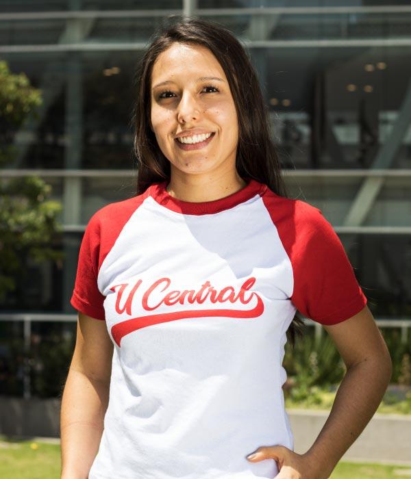 Camiseta U Central roja