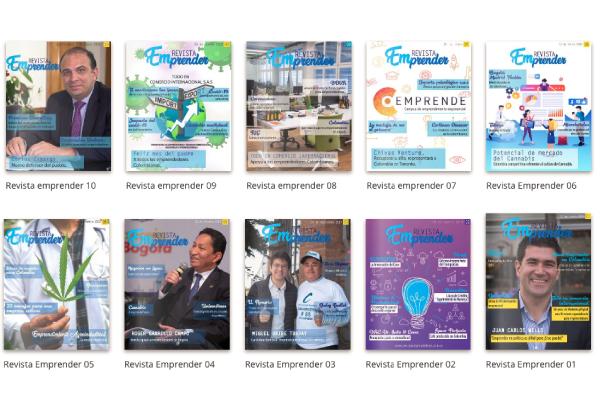 Revista Emprender, la revista de los emprendedores colombianos