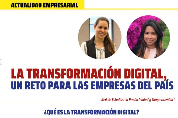 La transformación digital, un reto para las empresas del país