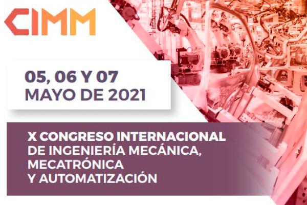 X Congreso Internacional de Ingeniería CIMM 2021