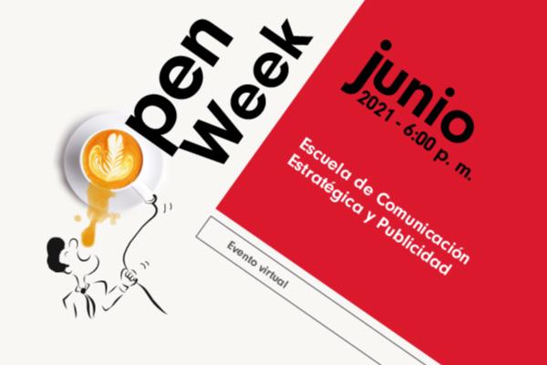 Open week pregrados de la Escuela de Comunicación Estratégica y Publicidad