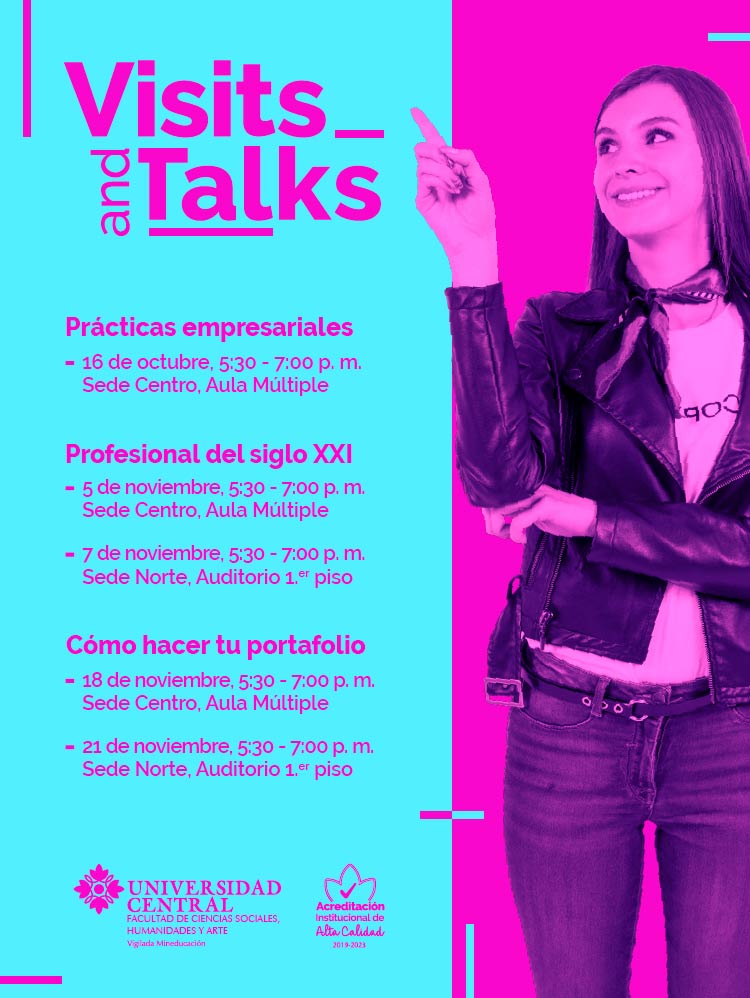 Visits and Talks: Prácticas empresariales