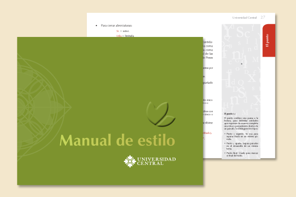 manual de estilo de la universidad central