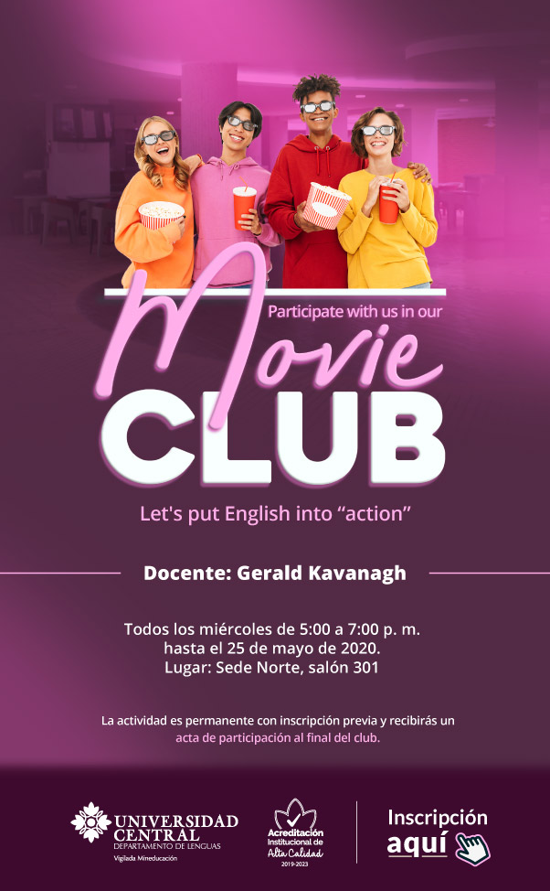 Movie club Sede Centro