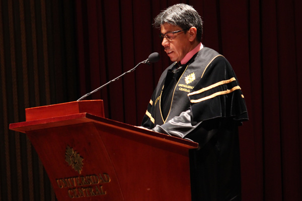 Raul Trompa, secretario general de la Universidad Central